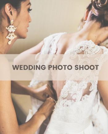 wedding photo shoot - bridal preparation
