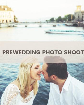 prewedding photo shoot