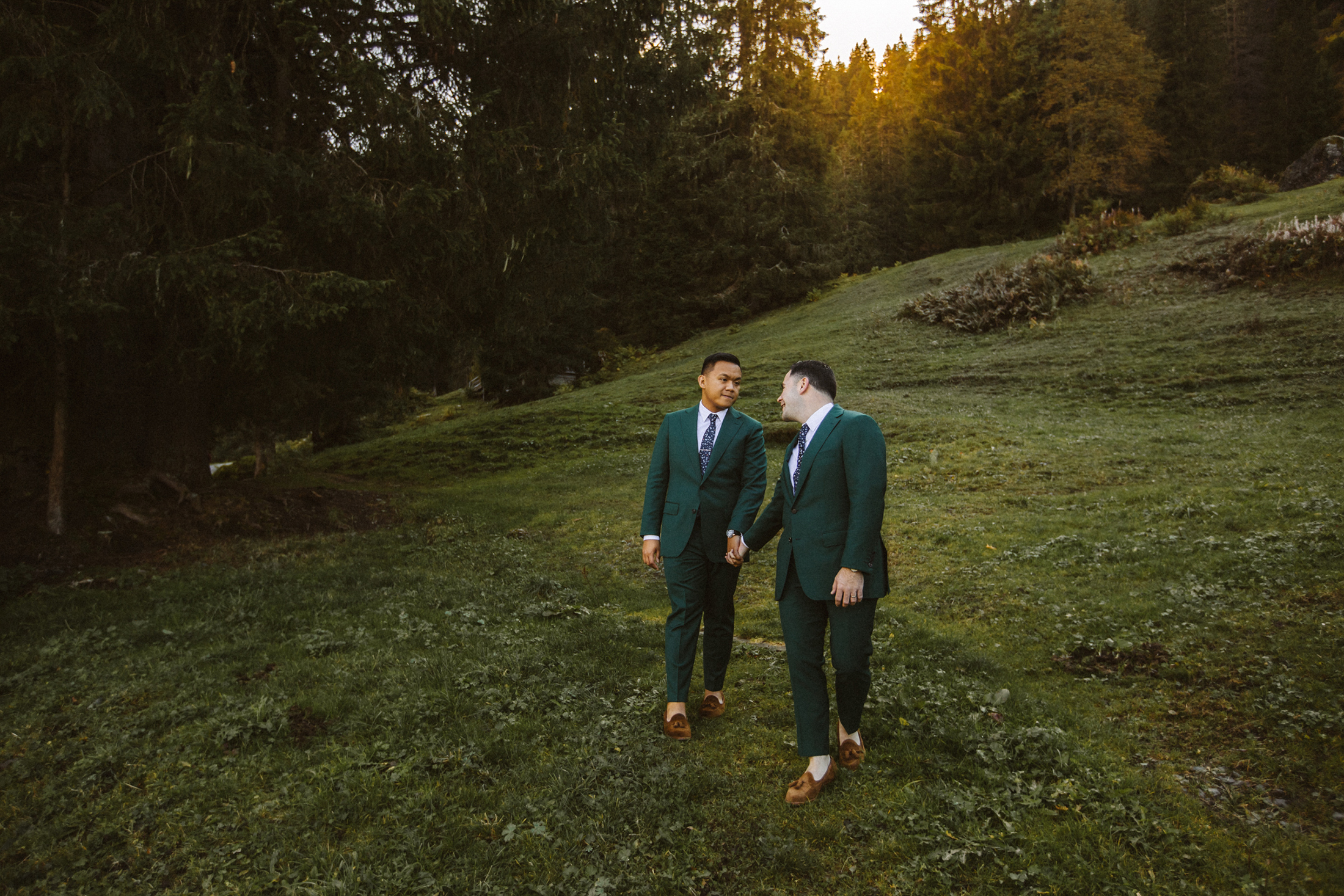 Elopement at the Jungfrau mountain Bendik photography
