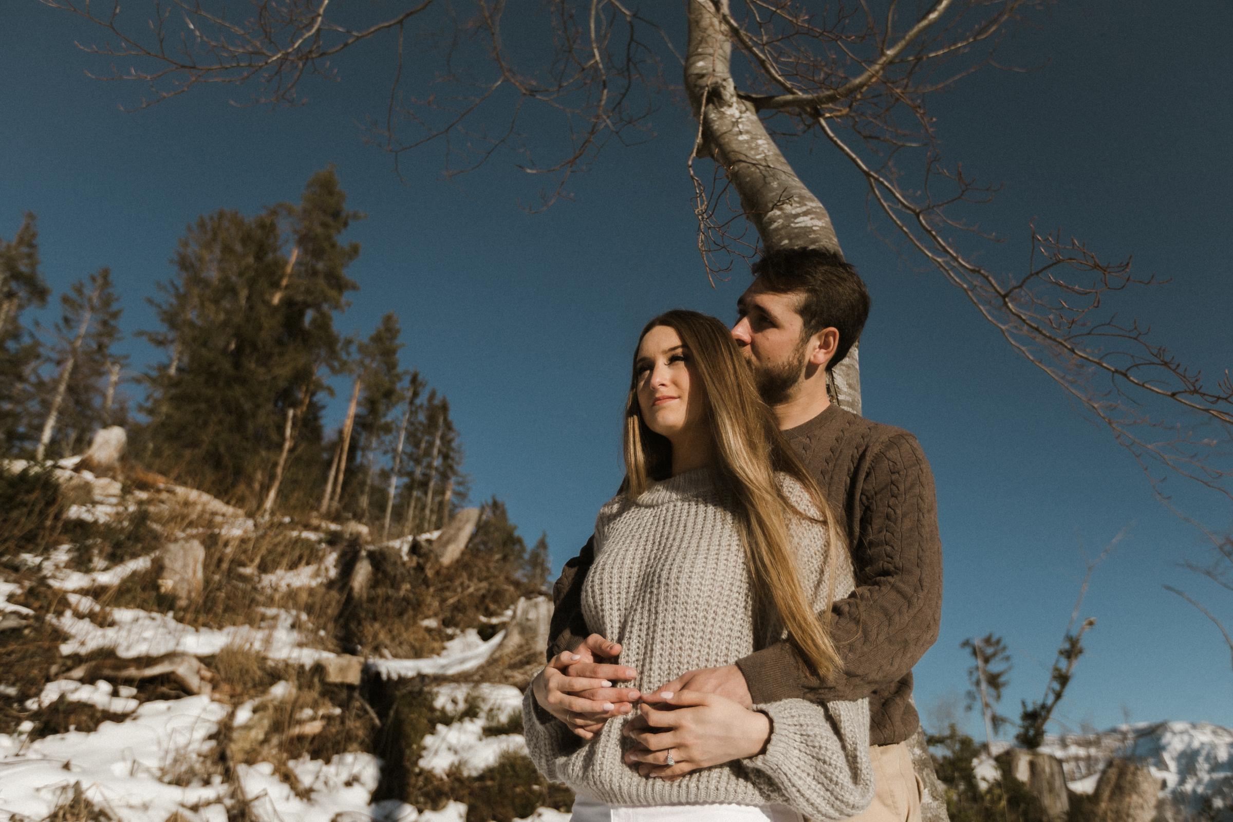 Engagement photo shoot Interlaken Switzerland Europe Bendik Photography
